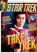 Star Trek Magazine issue 183 cover