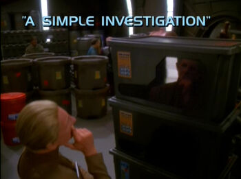 A Simple Investigation title card