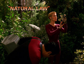 Natural Law title card