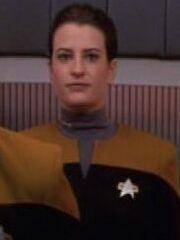 Küssendes Besatzungsmitglied Voyager 2371
