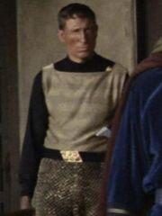 Klingonischer Soldat 8 Organia 2267