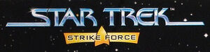 Playmates Star Trek Strike Force logo