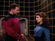 Riker prüft Troi