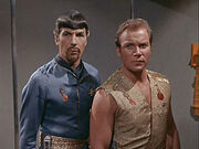 Spock kirk Mirror