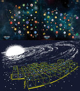 Star Trek Catan Federation Space maps