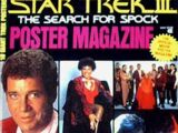 Star Trek III: The Search for Spock - Poster Magazine