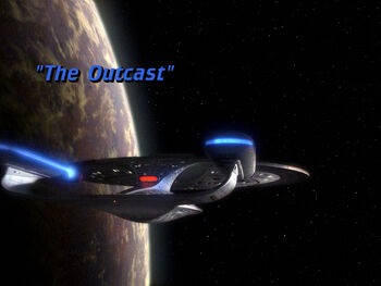 The Outcast title card