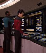 Enterprise-D aft bridge, 2369