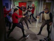 Klingonen im Kampf
