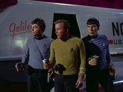 McCoy, Kirk, and Spock, 2267