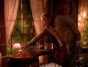 Old Jake Sisko at home in The Visitor