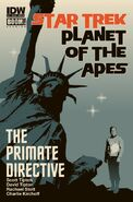 Primate Directive issue 1 Cover B