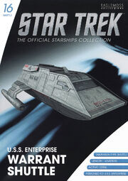 Star Trek Official Starships Collection Shuttle Issue 16