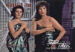 Star Trek The Next Generation - Season Three Trading Card 301