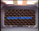 TNG Mission Farpoint VHS 1997