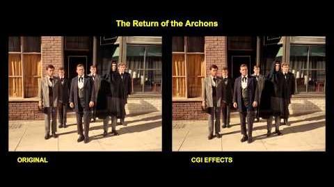 """TOS """"Le retour des Archons"""" - comparaison des effets spéciaux"""