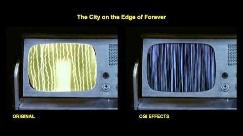 "TOS ""The City on the Edge of Forever "" - ""Contretemps"" - comparaison des effets spéciaux"