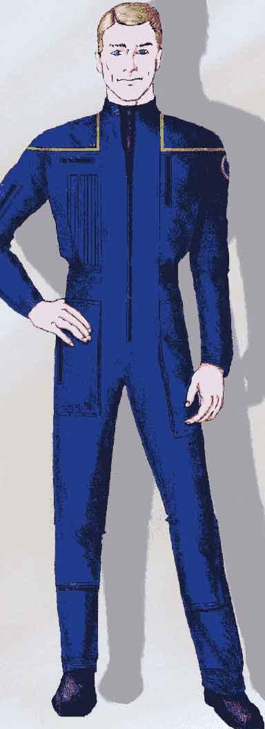 Uniform sketch USA Weekend