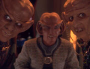 Awkward Ferengi moment