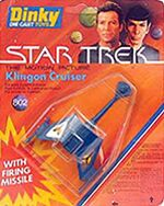 Dinky Toys No.802 Klingon Cruiser 1980