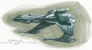 Klingon Bird-of-Prey (22nd century) artwork