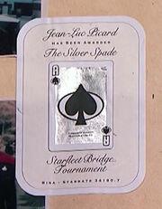 Silver Spade bridge award