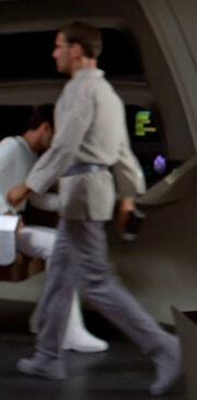 Starfleet civilian tunic, mid 2270s