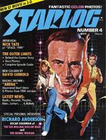Starlog issue 004 cover