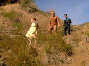 Taya, Odo, and Dax investigate