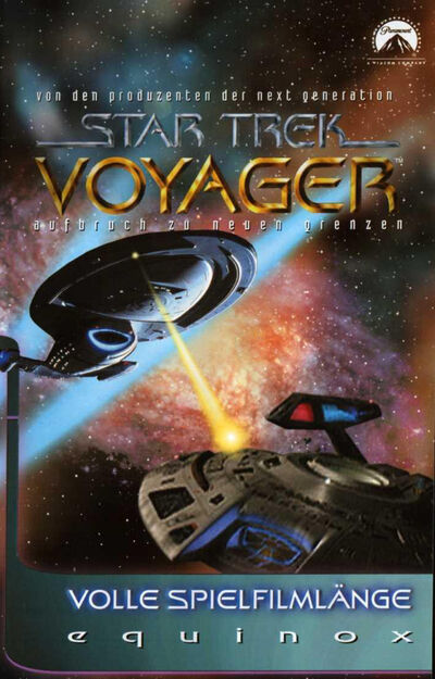 VHS-Cover VOY Equinox (Front)