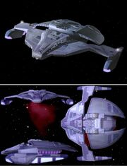 Jem'Hadar fighter CGI model upgraded at Foundation Imaging