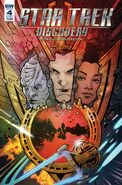 Star Trek Discovery - Succession, issue 4 cover A