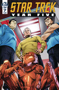 Star Trek Year Five issue 7 cover A