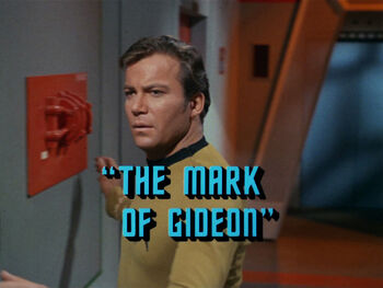 The Mark of Gideon title card
