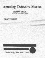 Amazing Detective Stories
