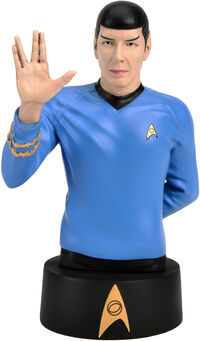 Eaglemoss Official Busts Collection Spock
