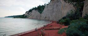Kaminar beach