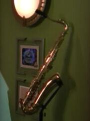 Saxophone ready room
