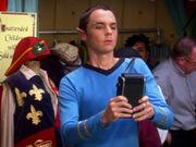 Sheldon als Spock