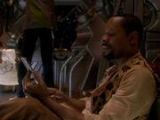 Sisko liest Geschichte seines Sohns