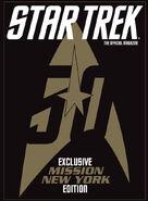 Star Trek Magazine US issue 58 Mission New York cover