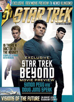 Star Trek Magazine issue 184 cover