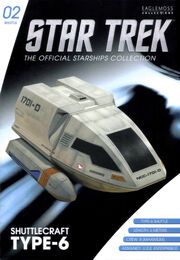 Star Trek Official Starships Collection Shuttle Issue 02