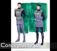 Star Trek The First Adventure, Vulcans concept