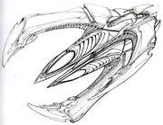 Xindi-Insectoid starship sketch 2