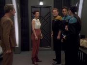 Dax bietet an mit Sisko über Kira zu reden