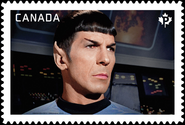 Mr spock stamp