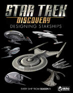 Star Trek Discovery Designing Starships final cover
