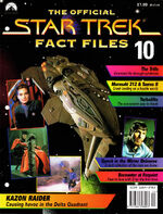 Star Trek Fact Files Part 10 cover