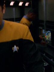 Sternenflottenoffizier Technik 3 USS Voyager 2377 Sternzeit 54274